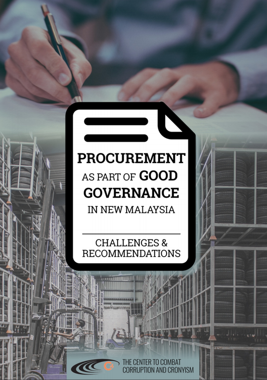 Procurement as Part of Good Governance in New Malaysia: Challenges and Recommendations